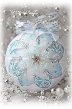 More Quiltd Ornaments