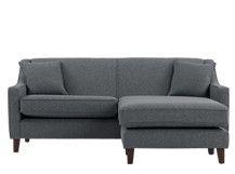 Halston Corner Sofa, Charcoal Weave