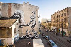 Lodz (Polônia) Street Art