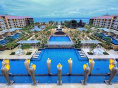 Amazing Pools at the Best New Hotels : Condé Nast Traveler ::: INDONESIA  MULIA RESORT  Bali, Indonesia