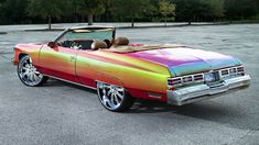 rides magazine 1975 chevrolet chevy caprice convertible donk forgiato outrageous 813 customs tampa florida