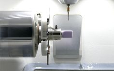 High-frequency spindle with extremly solid axis.