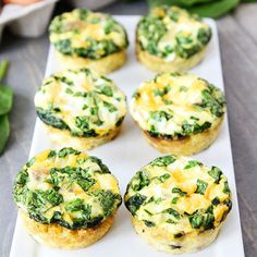 Bake Mini Frittatas Speaking of healthy breakfast on the go: Two Peas & Their Pod came up with a smart way to eat eggs on the run. These egg...