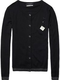 Lurex Detailed Cardigan