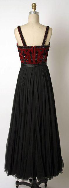 Evening dress James Galanos 1952