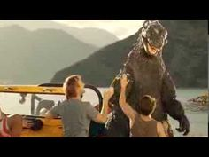 """SNICKERS® - """"Godzilla"""" (Extended Version) I was SO excited when I saw this the other night. Stoked for Godzilla 2014!"""