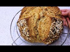 🔴Πανεύκολη συνταγή για σπιτικό ψωμί χωρίς μαγιά,χωρίς ζύμωμα,χωρις προζυμι ! - YouTube Banana Bread, Desserts, Food, Youtube, Tailgate Desserts, Deserts, Essen, Postres, Meals