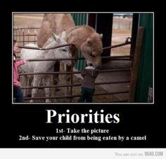 priorities hahaha