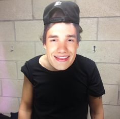 Harry wearing a Liam facemask