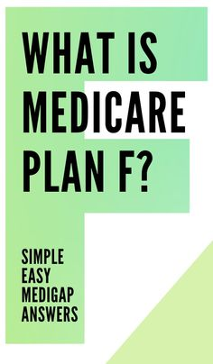 What is Medicare Plan F? Simple answers to questions on what Medicare Supplement Plan F (aka Medigap Plan F) covers and who is eligible to get it. Cheap Health Insurance, Life And Health Insurance, Health Insurance Companies, Short Article, Retirement Planning, Personal Finance, Make It Simple, Health Care, How To Plan