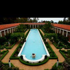 Getty Villa pool