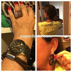 Raquel Superlinda: Sê Chique -  Cor Marrom