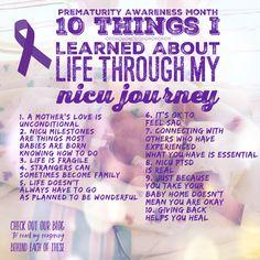 Neonatal Preemie Purple Feet Decal So Proud of My NICU Baby Sticker