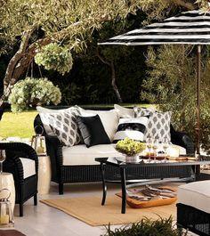 Black White Patio Decor Google Search White Patio Furniture