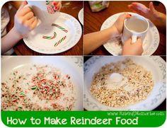 Raising Memories: How to Make Reindeer Food