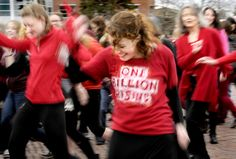 One Billion Rising raises awareness about violence against women  Jamie Gilligan joins more than 100 others Thursday afternoon dancing on Oval at the University of Montana as part of One Billion Rising, a worldwide movement to create awareness and to demand an end to violence against women