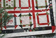 I love this quilt by TLC Stitches, using Countdown to Christmas and the George Schnibbles pattern. IMG_2293