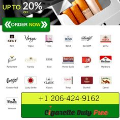 Buy Cigarettes up to 20% at http://www.cigarettedutyfree.com/english/cigarettes-international.html