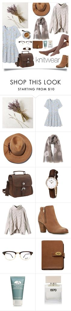 """""""knitwear - suéter tejido🌻🍂🌿"""" by rebecca-0518 ❤ liked on Polyvore featuring West Elm, WithChic, Eugenia Kim, Vagabond Traveler, ALDO, Ray-Ban, Mulberry, Origins and Bella Freud"""