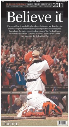 Believe it...they JUST. WON'T. GO. AWAY. I adore this pic of Yadi.