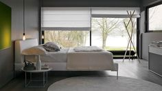 Charles by B&B Italia, the timeless bed which makes us dream