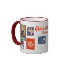 DENMARK* Christmas Stamp Coffee Mug