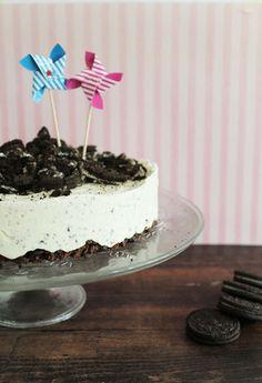 Koti kuusen alla: Oreo-jäätelökakku Oreo, Cheesecake, Baking, Desserts, Food, Tailgate Desserts, Meal, Patisserie, Cheese Cakes