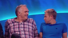 Greg Davies laughing is my kryptonite. Greg and Russell Howard are both terribly adorable, though. [GIF]