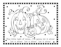shine for jesus coloring pages | Jesus Shine In Me Coloring Picture.... For Halloween ...