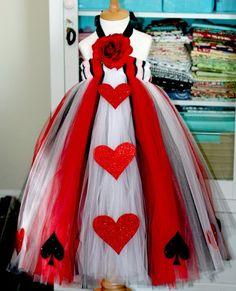 Flower Girl?? Queen of Hearts