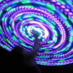 luna LED hoop