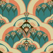 a deco garden  the_collectionist en spoonflower.com
