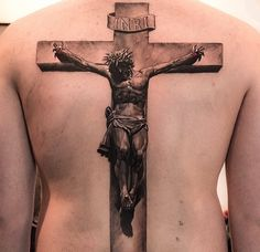 Pics Photos - Tattoos So Realistic Crucified Jesus Tattoo On Forearm Faith Tattoos, Bible Tattoos, God Tattoos, Back Tattoos, Forearm Tattoos, Body Art Tattoos, Tattoos For Guys, Jesus On Cross Tattoo, Cross Tattoo For Men