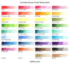Gansai Tambi Water Colours Set Review Amp Demo Plus Stamping
