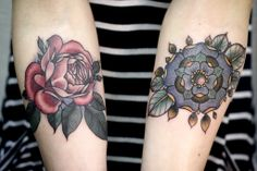 alice carrier tattoos