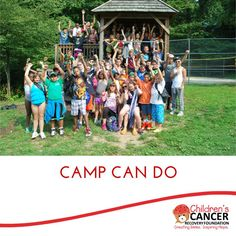 This summer, we were able to help send 67 pediatric cancer patients to Camp Can Do!   Check out all the fun activities the children participated in: http://childrenscancerrecovery.org/2014/08/ccrf-helped-fund-camp-scholarship-67-pediatric-cancer-patients/