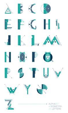 Typography Modular - Design Unografik | Works | Pinterest ...