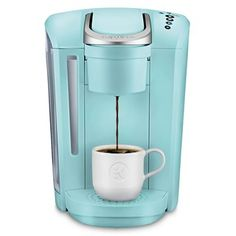 Keurig K-Select Coffee Maker, Single Serve K-Cup Pod Coffee Brewer, With Strength Control and Hot Water On Demand, Oasis Single Coffee Maker, Pod Coffee Makers, Single Serve Coffee, Coffee Pods, Coffee Lovers, Coffee Beans, Coffee Shop, Coffee Machine, Espresso Machine