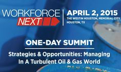 Oilpro Managing Director Joseph Triepke will deliver the keynote presentation at the 2015 WorkforceNEXT Spring Summit in Houston on April 2. The conference, Strategies & Opportunities: Managing in a Turbulent Oil & Gas World, is a one day summit designed for HR leaders in the energy industry.... - Oilpro.com