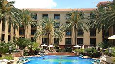 Quiet pool at the Lopesan Costa Meloneras Spa  Resort