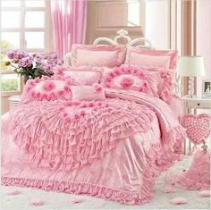 Pink and more Pink bedroom set