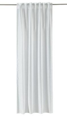 Mit dieser Gardine von ESPOSA machen Sie sich eine Freude. Der Vorhang überzeugt durch sein klassisches Design in edlem Weiß. Dank der 8 Ösen gelingt Ihnen das Aufhängen der Gardine im Handumdrehen. So werten Sie Ihr Zuhause stilvoll auf. Lassen Sie sich von der ESPOSA Gardine begeistern!