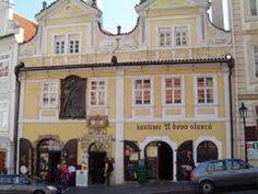 Praha House U dvou slunců(At the Two Suns),hier lived as a young boy Jan Neruda - Google Maps