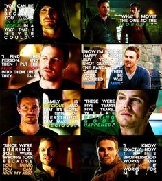 Oliver Queen's quotes <3