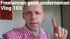 Freelancen is geen ondernemen  In deze vlog ga ik los. Waarom Arjen Lubach wel dagelijks moet vloggen. Waarom freelancen geen ondernemen is.