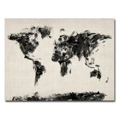 11 best map images on pinterest world maps worldmap and canvas abstract map of the world by michael tompsett graphic art on wrapped canvas gumiabroncs Image collections