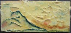 Shary Bartlett | Yama Mountain |  Plaster, encaustic
