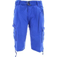 Imperious - Men's Belted Cargo Pants - Royal Blue | Royal Denim ...