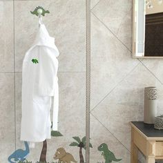 Linum Home Textiles Terry Turtle 100% Turkish Cotton Hooded Bathrobe Size: Medium