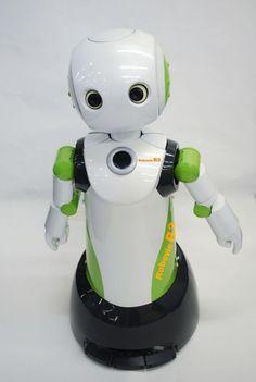 Robovie R3, la más reciente generación de robot comunicación de ATR, cuenta con un appe más lindo ...